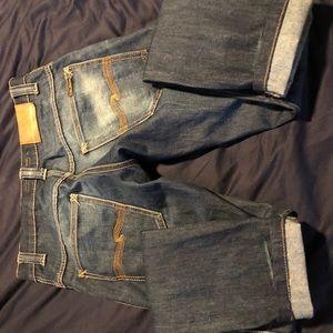 Nudie Thin Finn Raw Denim Jeans Sz '29' x 34